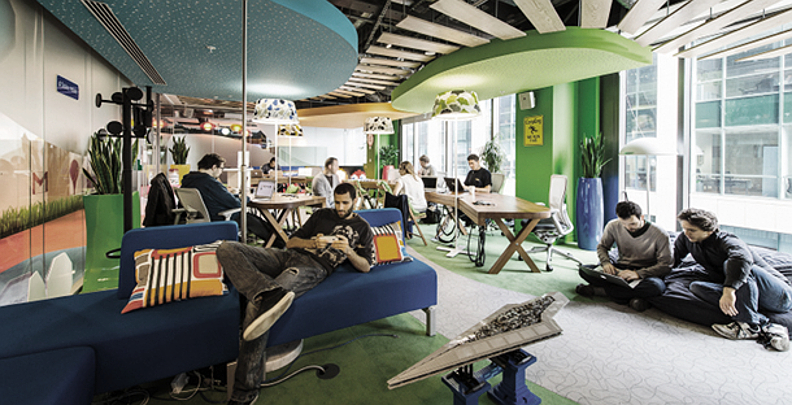 Millennial data provides a glimpse into the future of for Office design of the future