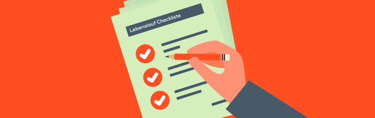 Lebenslauf Checkliste
