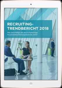 Der Trendbericht für Personalvermittler 2018