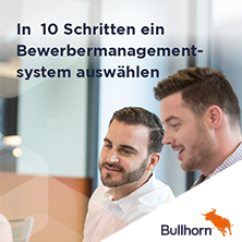 Auswahlprozess neues Bewerbermanagementsystem