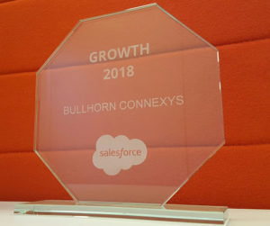 Salesforce Growth Award Bullhorn