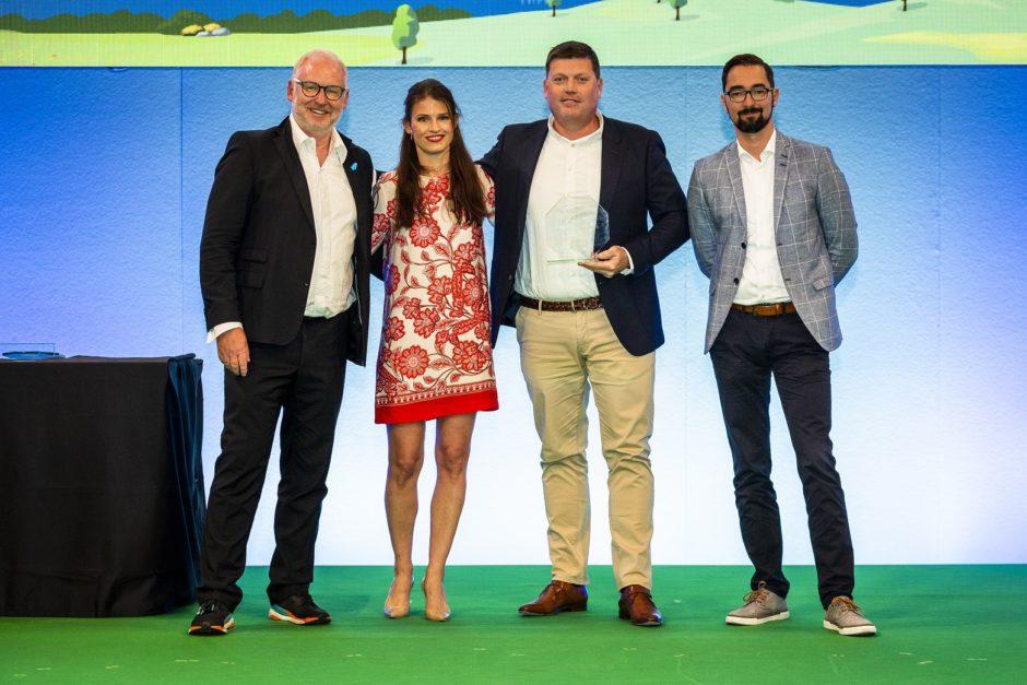 Salesforce Growth Award at CeBIT
