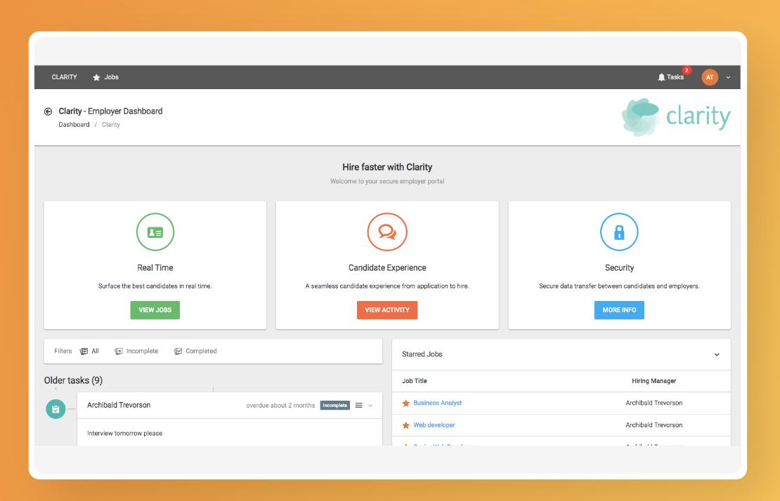Employer-portal