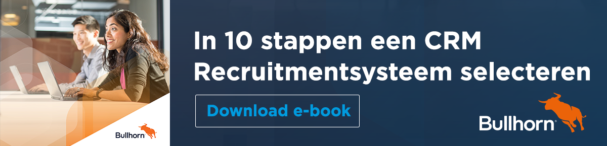 Recruitment systeem selecteren e-book