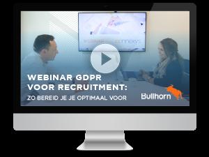 GDPR Webinar Bullhorn