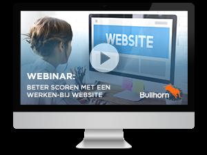 Werken bij website Bullhorn