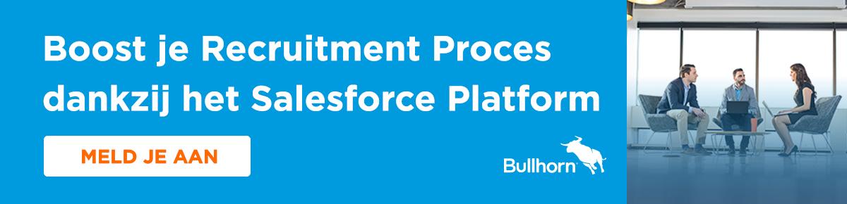 Recruitment en CRM op Salesforce Platform