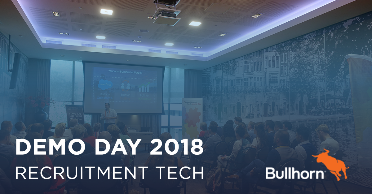Recruitment Tech Demo day 2018