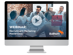Webinar recruitment marketing masterclass VONQ