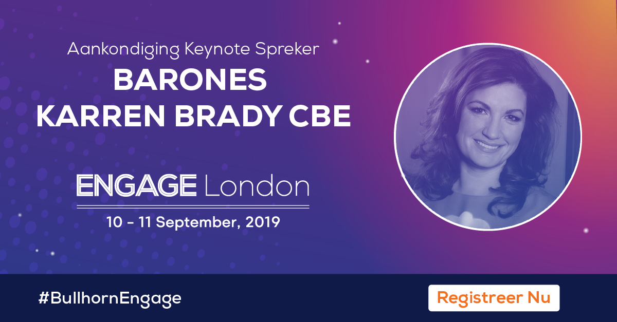 Engage London 2019 Keynote Spreker