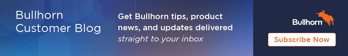 Bullhorn Customer Blog