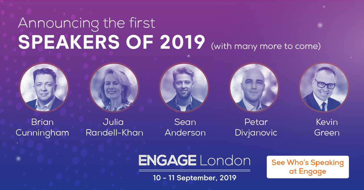 Engage London Speaker