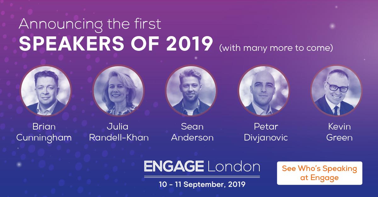 Engage London Speaker