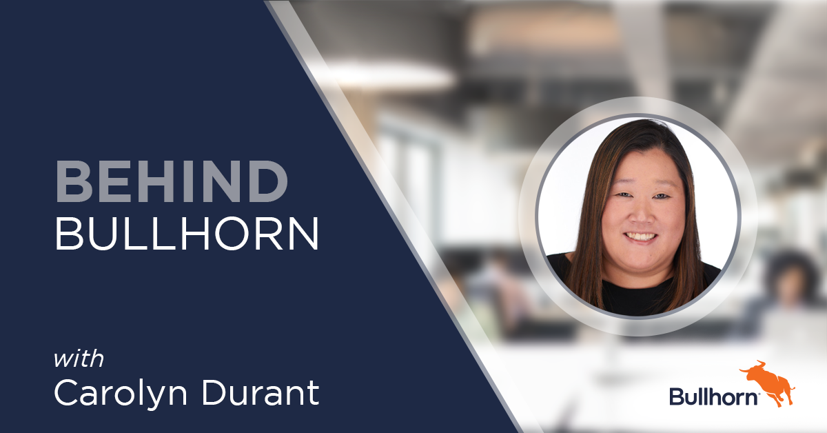Carolyn Durant Relationship Manager Bullhorn