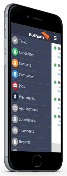 mobile recruitment crm
