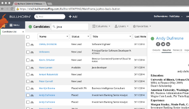 Software Advice Loves Bullhorn S Applicant Tracking System