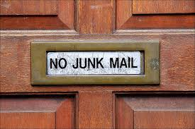 2 junk mail