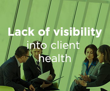 Lack of visibility into client health