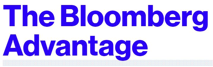 The Bloomberg Advantage
