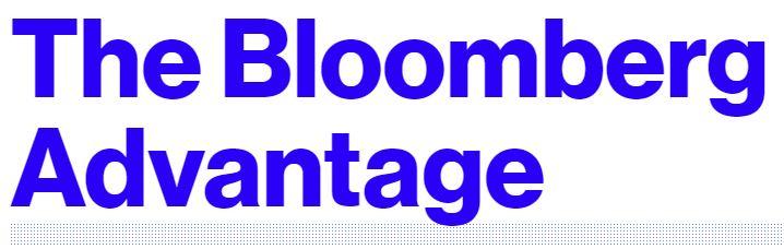 The Bloomberg Advantage