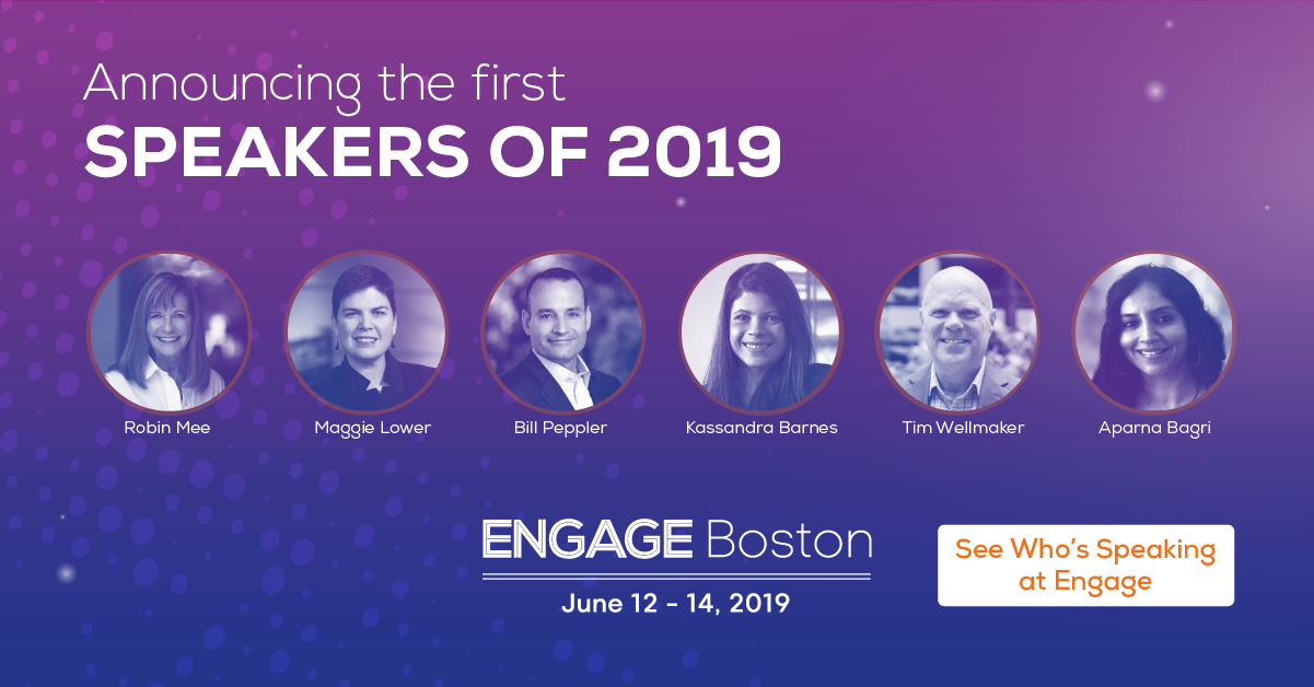 Engage Boston 2019 Speakers