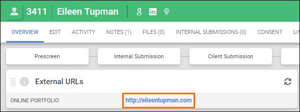 Creating a URL field