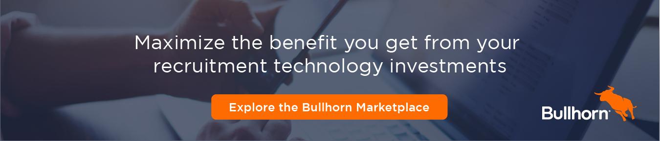 Visit the Bullhorn Marketplace