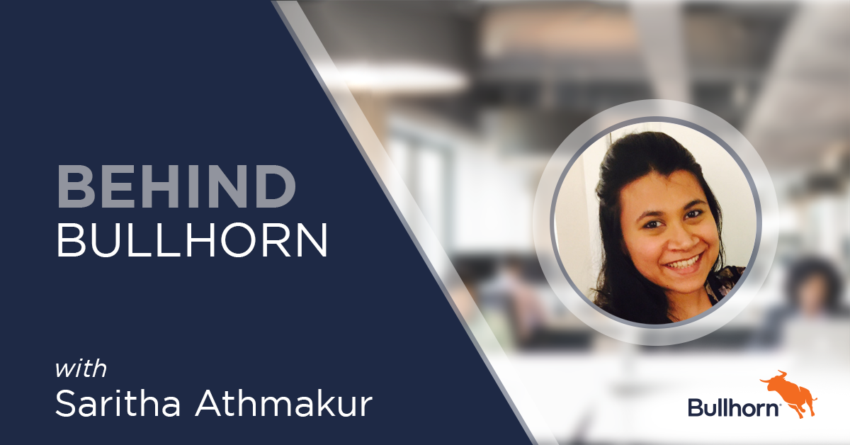 Behind Bullhorn Saritha Athmakur