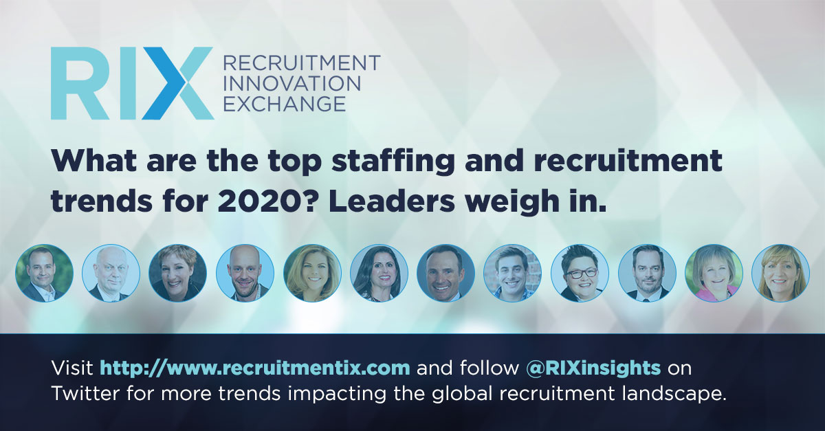 top staffing and recruitment trends