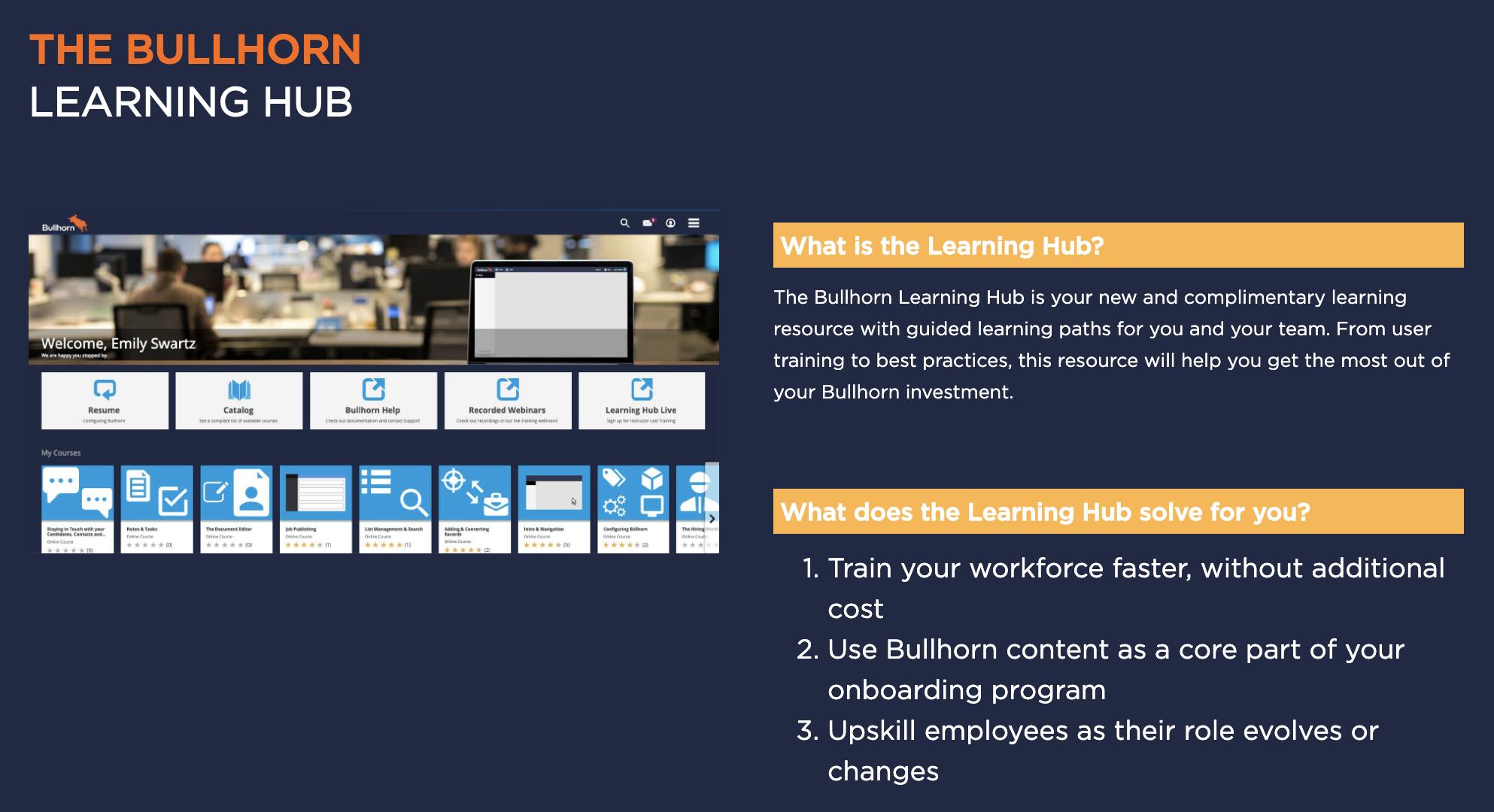 bullhorn learning hub