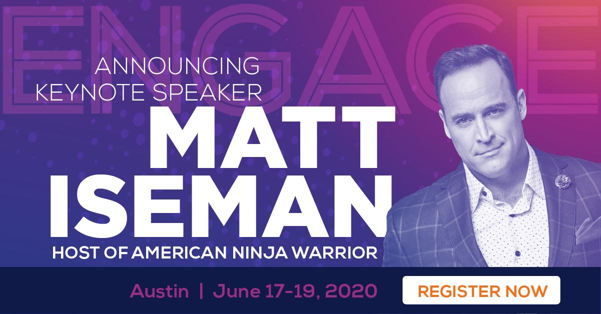 Engage Keynote Matt Iseman