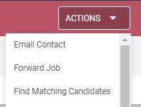 Find Matching Candidates Bullhorn