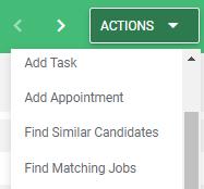 Find Matching Jobs Bullhorn