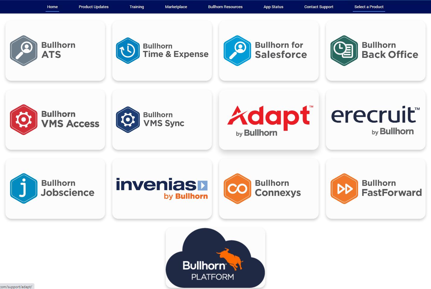 Bullhorn for Salesforce Customer Community