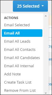 Mass Mailing Distribution List