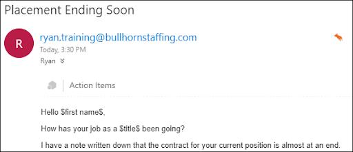 Mass Mailing Email Error Bullhorn