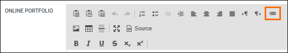 Link Icon - Adding a URL Field