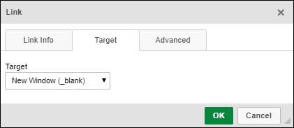 Target Tab